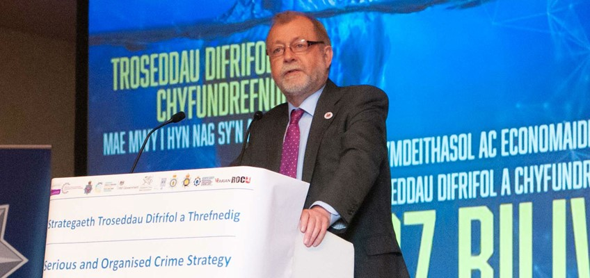 Security Minister Launches Serious And Organised Crime Strategy In Wales
