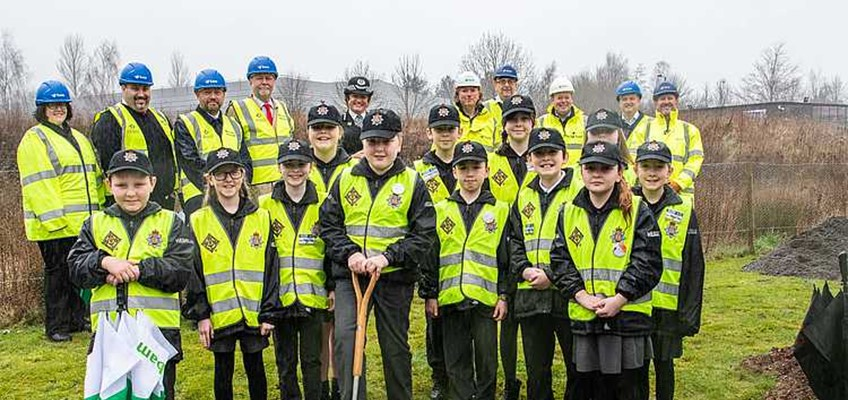 Sod Cutting Ceremony Officially Marks The Start Of New Police Facility