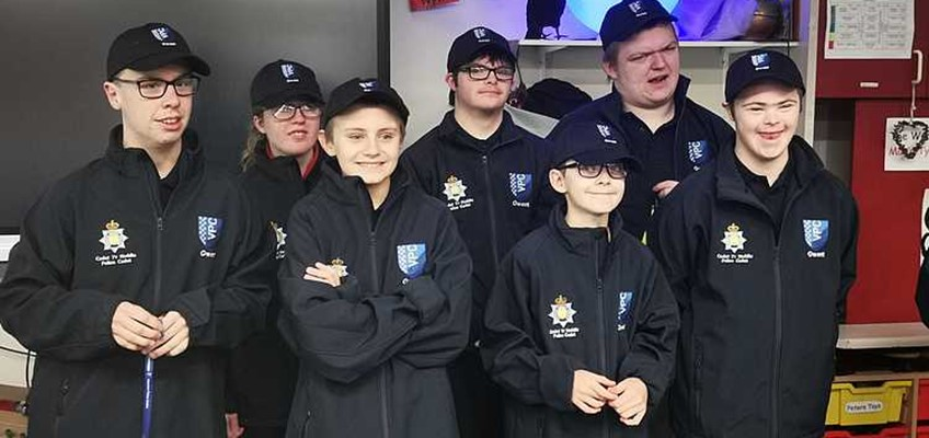 Trinity Fields Pupils Join The Ranks Of Gwent Police Force Cadets